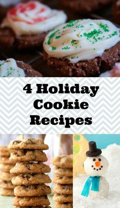 Our 4 Favorite Holiday Cookie Recipes #SavortheSeason #Contest