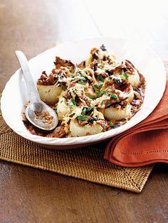 Angela Hartnett's baked stuffed onion recipe is a veggie sensation.