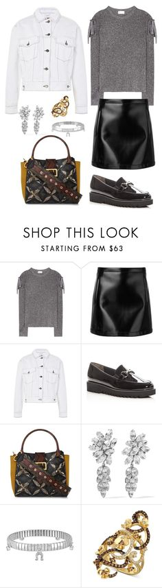 """""""Untitled #1992"""" by rubysparks90 ❤ liked on Polyvore featuring RED Valentino, Philosophy di Lorenzo Serafini, Topshop, Paul Green, Burberry, Ben-Amun, Nomination and LE VIAN"""