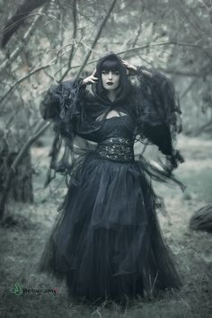 Photographer/Stylist: SS PhotographyModel: Angelica Kotliar MUAH: Andy Calero Professional Hairstylist and Makeup ArtistWelcome to Gothic and Amazing  www.gothicandamazing.org