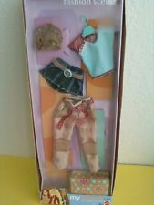 My Scene Barbie Fashion Scene Capri Pants Shorts Top Cap Box Accessories New