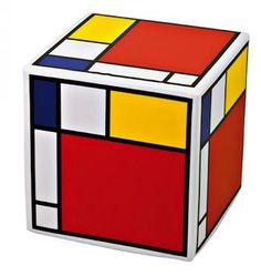 Mondrian Rubik's Cubes?