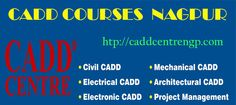CADD CENTRE NAGPUR offers CAD courses for students and working professionals of Mechanical, Civil, Electrical & Electronics engineering, Architecture, and Project Management disciplines.CAD course is highly important for those who are in manufacturing and engineering field.