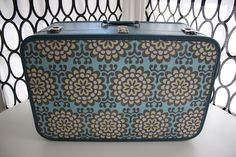 Decoupaged Vintage Suitcase