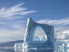 The Arctic Circle from Greenland