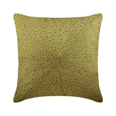Gold Art Silk Throw Pillow Cover, Casting A Glow – The HomeCentric