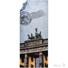 MOVE Postcard from BERLIN - oryginalny ręcznik plażowy - NieMaJakwDomu