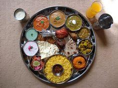 INDIAN FOOD - Punjabi Thali 1