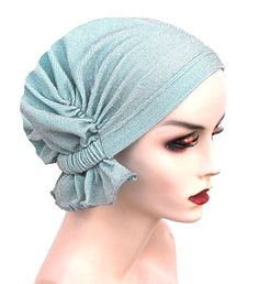 Best Selling Chemo Cap in the USA!  -No Fuss Design, Just Slip On n Go!  -Made with Soft, Stretchy Light Weight Cotton Knit Fabric  -Cute
