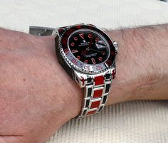 Finally! Colorful Coatings For Most Metals: Rau Tech Custom Rolex And Other Watches   watch releases