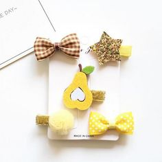 New 5pcs animal hair bow Hairpins children stars Cartoon hair clips kids girls crown Barrettes hair Accessories headwear T41-in Hair Accessories from Mother & Kids on Aliexpress.com | Alibaba Group Kids Girls, Baby Girls, Cartoon Hair, Girls Crown, Girl Hair Bows, Girls Hair Accessories, Hair Barrettes, Christmas 2017, Alibaba Group