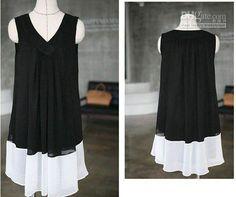 Wholesale 2012 new maternity fashion dress black sleeveless pregnant women chiffon wear, Free shipping, $20.8-27.25/Piece | DHgate