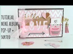 Tutorial: minialbum LOVE, proyecto para Scraperas Unidas - YouTube Shower Pics, Baby Shower, Tarjetas Pop Up, Mini Album Tutorial, Mini Albums Scrap, Mini Scrapbook Albums, Happy Mail, Card Tutorials, Smash Book