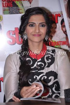 Sonam and Dhanush unveil Star Week's latest issue