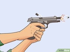 How to Practice Drills with Your Handgun. Training and drills are the key to being fast in a tense situation. The training of individual movements makes you fast and consistent, and the drills will get you familiar with your own ability. Police Gear, Military Gear, Home Defense, Self Defense, Shooting Guns, Shooting Range, Shooting Targets, Tactical Training, Tactical Survival