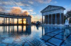 Neptune's pool... California