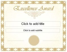 24 best recognition certificate images award certificates
