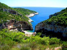 Stiniva Cove, island Vis, Croatia (touched-up)