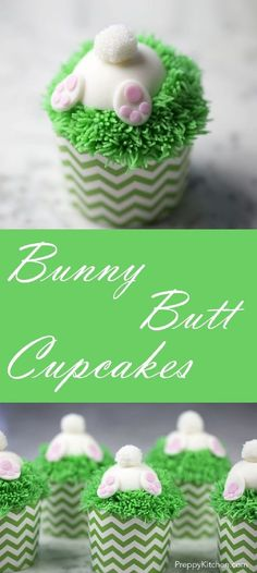 Bunny Butt Cupcakes - 19 Traditionally Decorated Easter Desserts to Unwrap the Season
