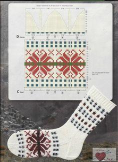 Verena Spezial In 80 Socken um die Welt - Teil 3 — Yandex. Crochet Socks, Knit Mittens, Diy Crochet, Knitting Socks, Knit Socks, Knitting Stiches, Knitting Charts, Knitting Patterns, Knit Leg Warmers