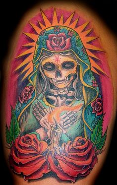 DAY OF THE DEAD by Carl Alexander Tattoos, via Flickr
