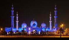 Grand Mosque - a.k.a. Sheikh Zayed Mosque by Jim Boud, via Flickr