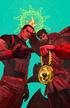 spyrale:  Punisher x Doctor Strange by Marco DAlfonso // Follow Artist on Tumblr