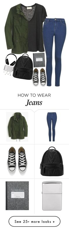Untitled #2448 by sisistyle on Polyvore featuring Topshop, Converse, J.Crew, Alexander Wang, women's clothing, women's fashion, women, female, woman and misses