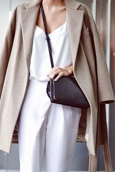neutral long jacket