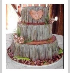 18 Quot Rustic Wood Tree Slice Wedding Cake Base Or Cupcake