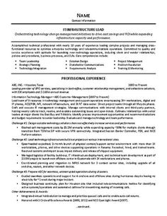 Team Leader Resume Format   Resume CV Cover Letter