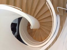 Stairs in Vitrahaus - Herzog & de Meuron