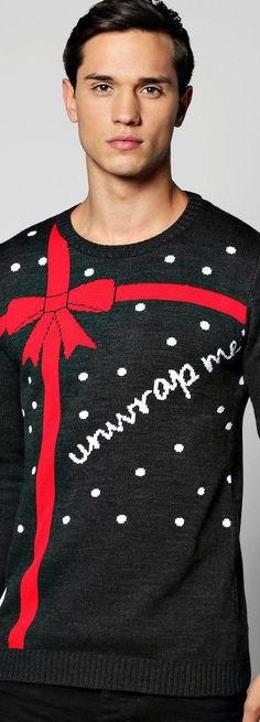 Unwrap Me Christmas Jumper - Knitwear  - Street Style, Fashion Looks And Outfit Ideas For Spring And Summer 2017