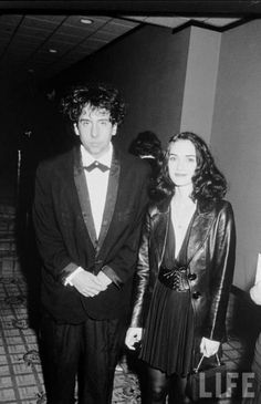 Tim Burton and Winona Ryder