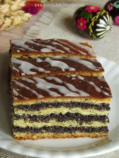 Cake bowl with red fruits - HQ Recipes Polish Desserts, Polish Recipes, Baking Recipes, Cake Recipes, Dessert Recipes, Fig Cake, Kolaci I Torte, Different Cakes, Christmas Desserts