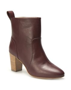 Clean Leather Ankle Boot