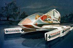 spearmint gum boat