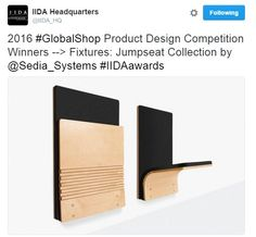 We've always thought the #JumpSeat was more than a chair, it's a #Fixture too! Proud to announce this fantastic fixture won Best Product Design --> Fixtures Category at #GlobalShop2016 #IIDAawards!! Come celebrate with us at Booth #3707