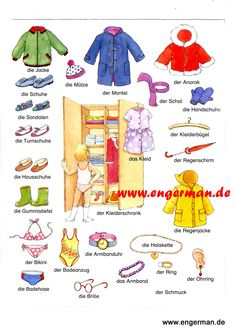 Les vêtements d'enfants