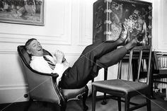 William F Buckley Jr, American journalist and author, c1960s. Buckley (1925-) founded the neo-conservative political magazine National Review in 1955.