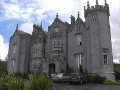 Haunted castle in Ireland