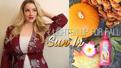 Lighten Up your Tresses for Fall with SunIn @Walmart http://www.monroemisfitmakeup.com/2017/11/lighten-up-your-tresses-for-fall-with.html #ad #SunInFunIN #PowerPrimper http://primp.in/DnOk0n3gKo