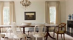 """Darryl Carter's The Collected Home - """"chairs do not need to match but they should relate."""""""