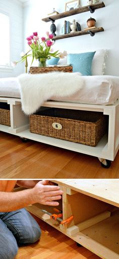 bauanleitung f r ein holzpodest foto toom baumarkt. Black Bedroom Furniture Sets. Home Design Ideas