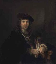 Rembrandt Harmensz. van Rijn and Studio, Man with a Sword