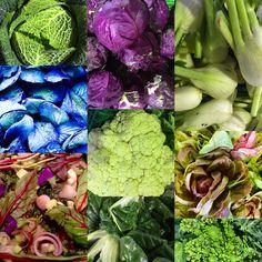 Roberto Dones e le sue verdure di stagione.