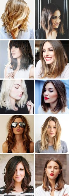 Great mid-length haircuts. the Lob.