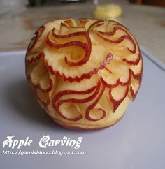 Apple Carving For Today