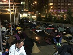 225 business leaders sleeping out for Covenant House and homeless teens. We raised over $1.5 million that night. Across all locations, over $6.5 million!