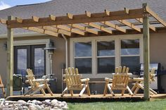 DIY Pergola & Deck with step by step instructions #pergola #DIY #backyard oasis